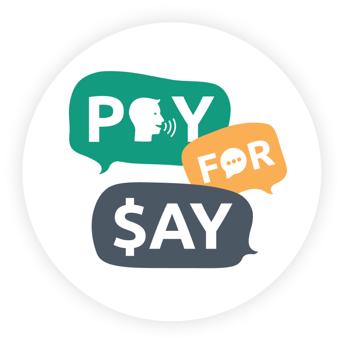 Pay for Say (en)
